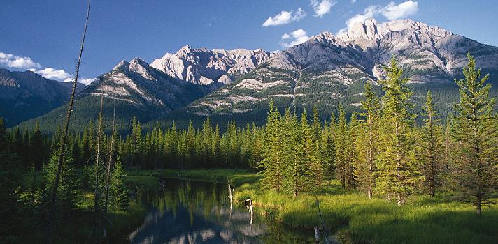 Naturlandschaften von Kanada